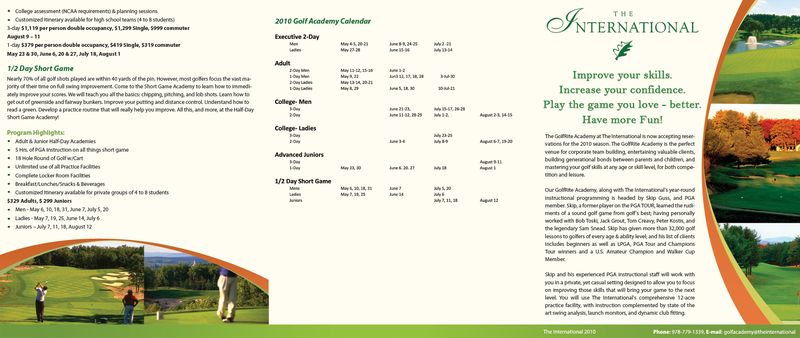 Golf-flyer-front-two-back
